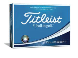 Kassi af Titleist Tour Soft golfkúlum