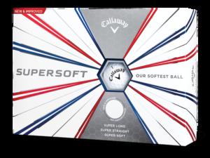 Kassi af Titleist Callaway Supersoft 2019 golfkúlum