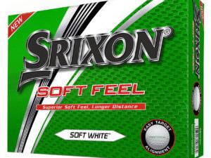 Kassi af Srixon Soft Feel golfboltum