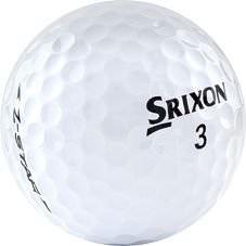 Nærmynd af Srixon Z-Star golfbolta.