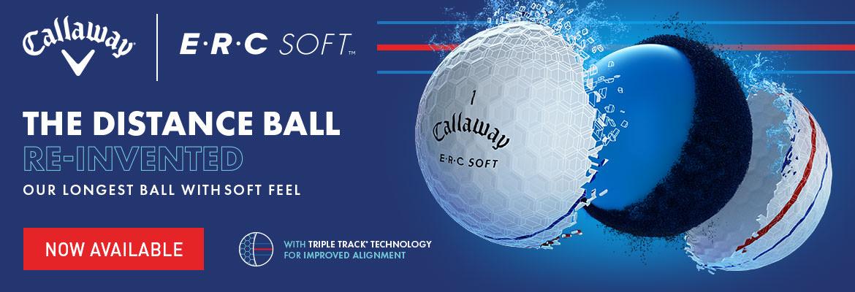 Callaway ERC Soft golfkúlur banner
