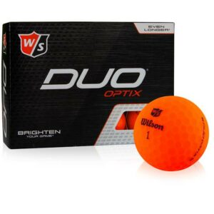 Wilson Duo Optix Orange
