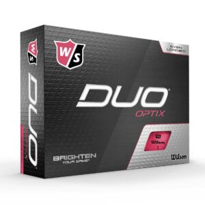 Wilson Duo Optix Bleikur