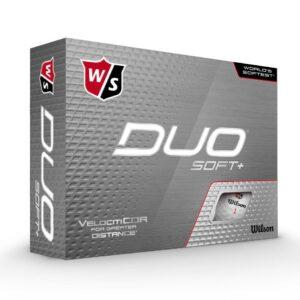 Wilson Duo Soft+ Hvítur
