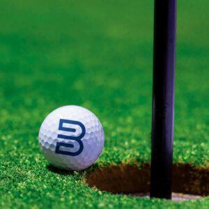 Sérmerktar golfkúlur